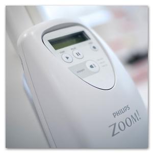witte tanden met Philips Zoom!